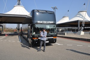 Tourbus Swiss border