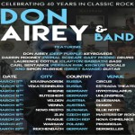 Don Airey and Band hit the road in March for an 11-date tour!