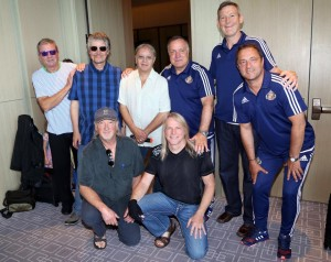 Deep Purple and Sunderland AFC